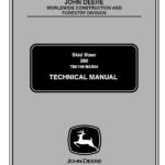John Deere 280 Skid-Steer Loader Technical Manual TM-1749