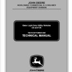 John Deere CS and CX Gator Utility Vehicles Service Manual TM-2119