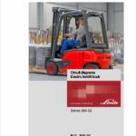 Linde Series 386 Electric Forklift Truck:  E12, E14, E15, E16, E18 E20 Workshop Manual