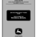 John Deere X130R Tractors Service Manual TM-109219
