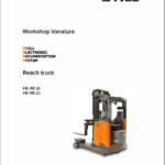 Still FM-4W 20 and FM-4W 25 Reach Truck Workshop Repair Manual
