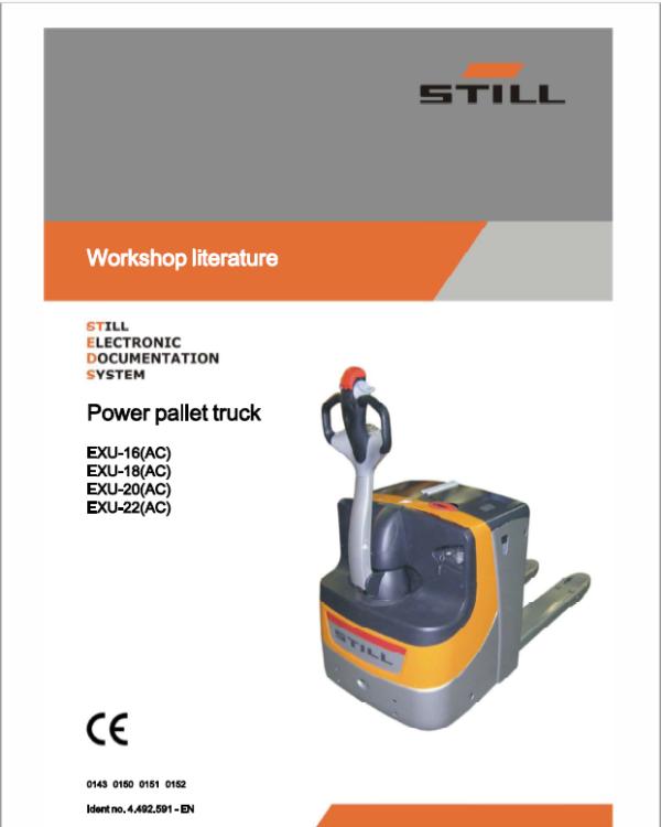 Still EXU repair manual