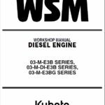 Kubota WSM 03-M-E3B