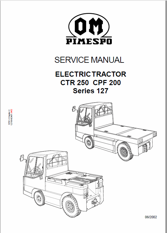 Om Pimespo Fiat Ctr 250 Cpf 200 Ctr 60 Workshop Repair Manual