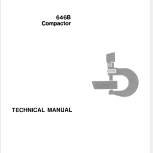 John Deere 646B Compactor Technical Manual TM-1116