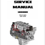 Liebherr Diesel Engine D934 D936 Service Manual