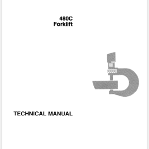 John Deere 480C Forklift Technical Manual TM-1249
