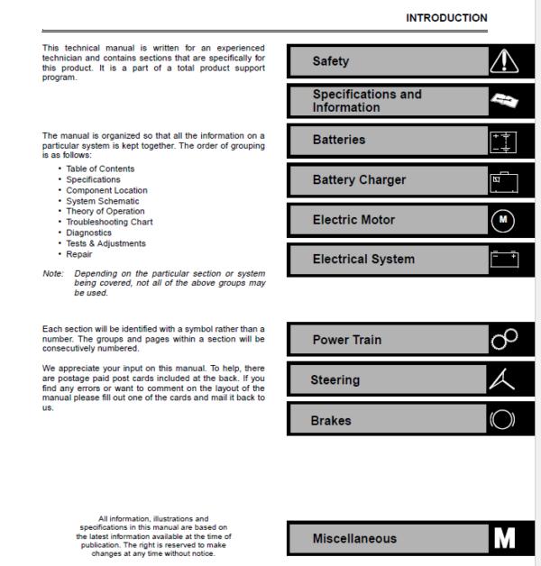 John Deere E-Gator Service Manual TM-1766