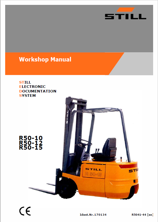 still electric fork truck r50 r50 10 r50 12 r50 15 repair circuit rh therepairmanual com mini r50 workshop manual bmw r50 workshop manual