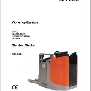 Still EXD-18, EXD-20, EXD-S-20 Double Pallet Stacker Workshop Repair Manual