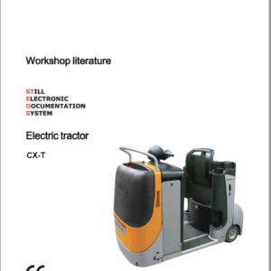 Still CX, CXD, CXM, Kanvan, CXS, CXT, CXH Order Picker Workshop Repair Manual