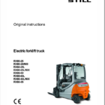 Still Electric Forklift Truck RX60: Model RX60-25, RX60-30, RX60-35 Repair Manual