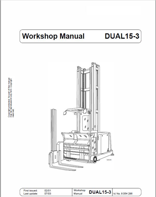 OM PIMESPO CTR Dual 10, Dual 13, Dual 15-3, Dual 15-4 Workshop Repair Manual