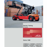 Linde Series H1468 Reachstacker : C4020-4535CH, C4230-4540TL manual