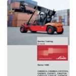 Linde Series 1468 Reachstacker : C4020-4535CH, C4230-4540TL Workshop Training Manual