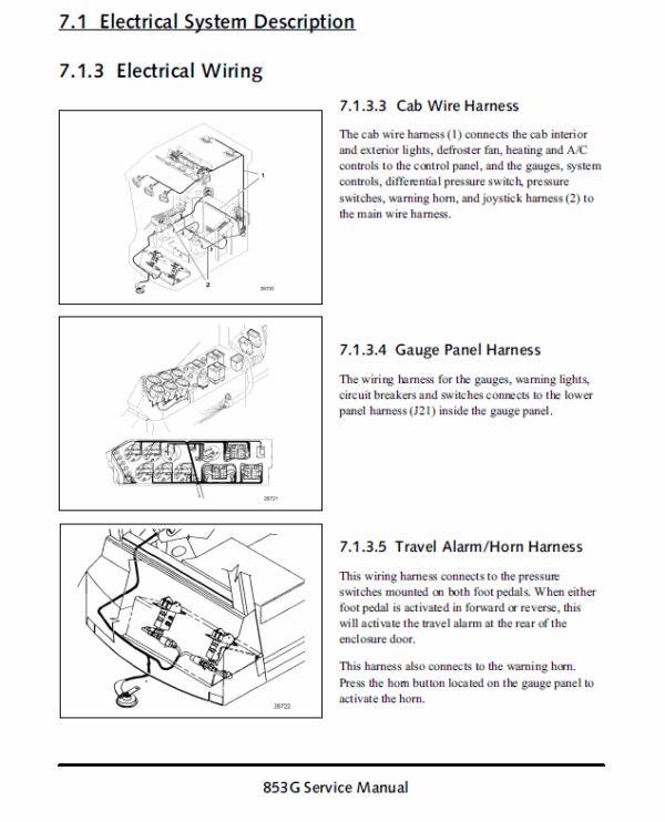 John Deere 853G Log Loader Service Manual TM-1889