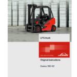Linde 392 Forklift : H20D, H25D, H20T, H25T Service Repair Manual