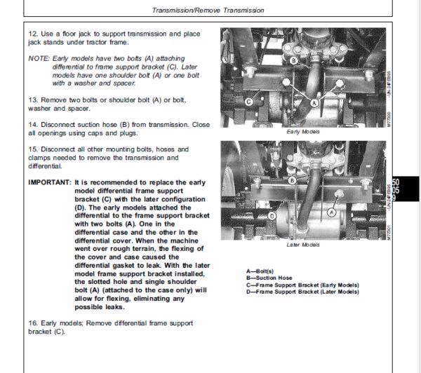 John Deere 316, 318, 420 Lawn and Garden Tractors Service Manual TM-1590
