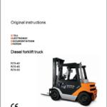 Still Electric Fork Truck R70: R70-25, R70-30, R70-35, R70-40, R70-45, R70-50 Repair Circuit Workshop Operating Manual