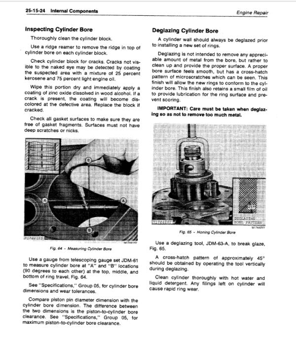John Deere 60 Skid-Steer Loader Service Manual TM-1185