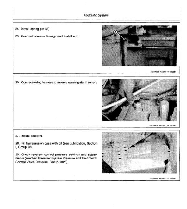 John Deere 401D Tractor Service Manual TM-1271