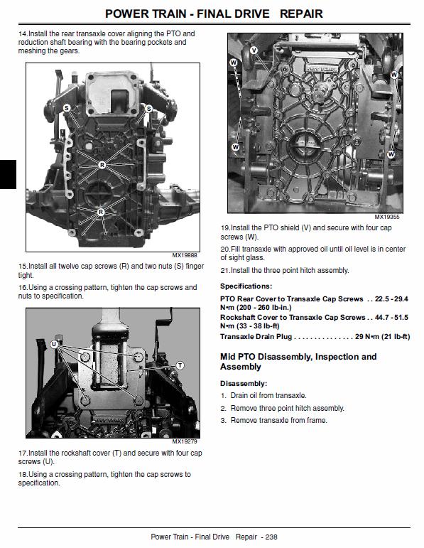 John Deere 2210 Pact Utility Tractors Technical Manual Tm2074. John Deere. John Deere 2210 Pto Diagram At Scoala.co