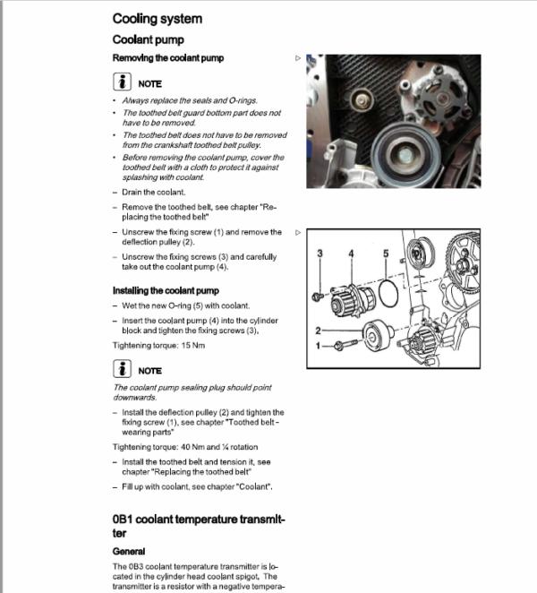 Still Engine VW 2.0i SPI (BEF) with Impco LPG System Repair Manual