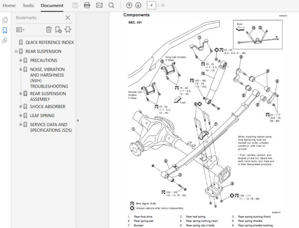 nissan navara d40: 2004 - 2018 repair manual  the repair manual