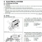 Still WSM WG2503-L Kubota LPG Engine Workshop Repair Manual