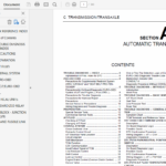 Nissan X-Trail T30 – 2001-2007 Repair Manual