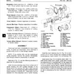 John Deere 890 Excavator Service Manual TM-1163