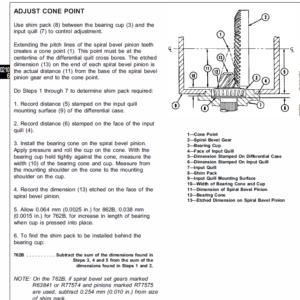 John Deere 762B, 862B Scraper Service Manual TM-1489 & TM-1490