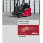Linde 391 Forklift Truck : H14T, H16T, H18T, H20T Service Training Manual