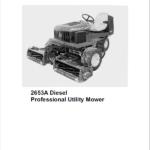 John Deere 2653, 2653A Utility Mower Technical Manual