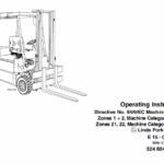 Linde Type 322, 323, 324 Forklift Model: E10, E12, E14, E15, E16, E20, E25, E30 Workshop Service Manual