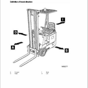 OM Pimespo E10N and E8N Series 4033 Workshop Repair Manual