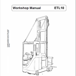 OM Pimespo ETL10 Forklift Workshop Manual