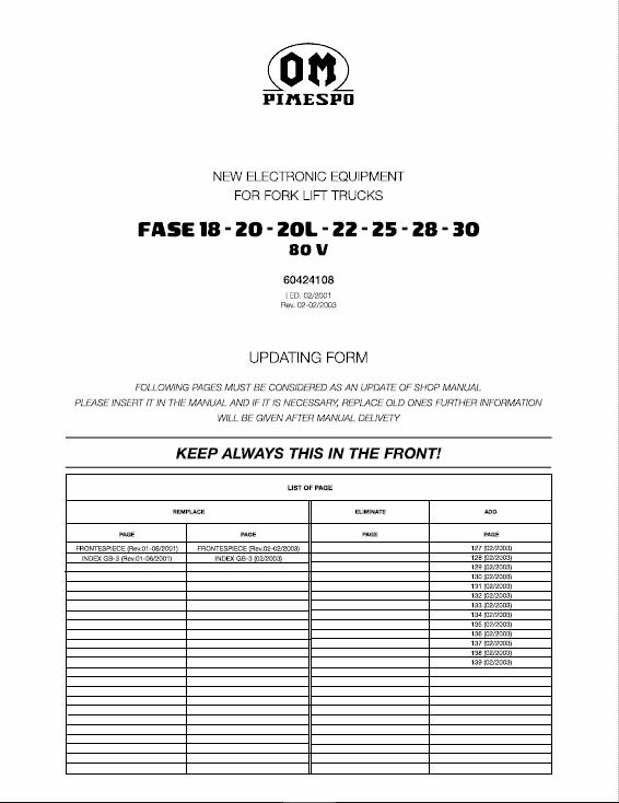 OM Pimespo Fase 18-20-20L-22-25-28-30