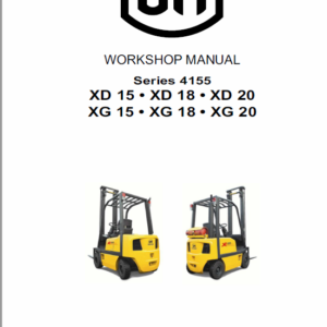 OM Pimespo XD15, XD18 and XD20 Forklift Repair Workshop Manual