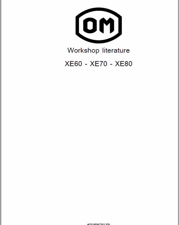 OM Pimespo XE60, XE70 and XE80 Forklift Workshop Manual