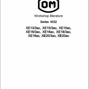 OM Pimespo XE13/3ac, XE15/3ac, XE15ac, XE16/3ac, XE16ac, XE18/3ac, XE18ac, XE20/3ac, XE20ac Manual