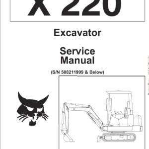 Bobcat X220 Excavator