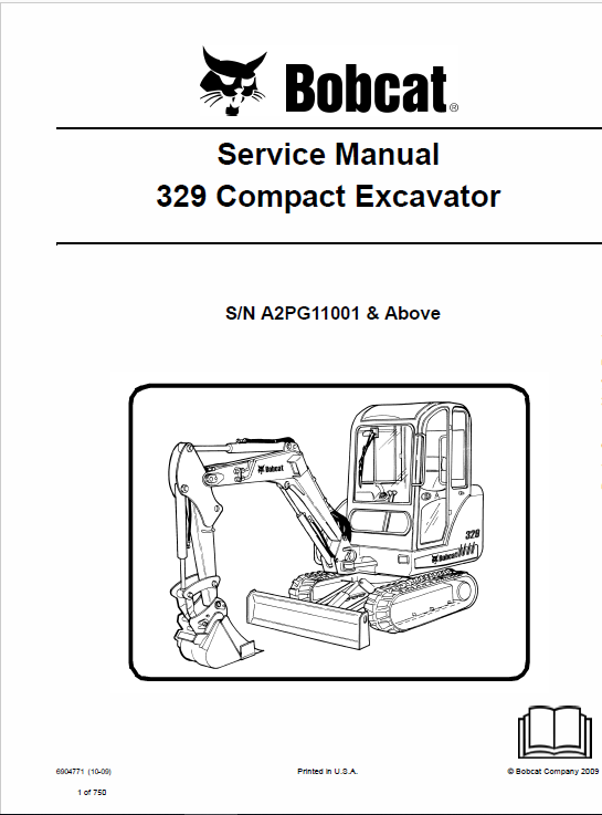 Bobcat 329 Compact Excavator Operating Electric Hydraulic And Service Manual: Bobcat 5610 Joystick Wire Diagram At Johnprice.co