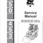 Bobcat 450 and 453 Skid-Steer Loader manual