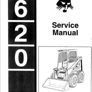 Bobcat 620 Skid-Steer Loader manual