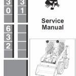 Bobcat 630, 631 and 632 Skid-Steer Loader Service Manual