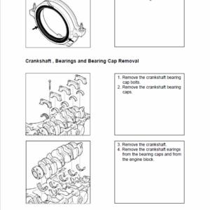OM Pimespo Engine 3.0L For Forklift Trucks Repair Rules Manual