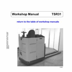 OM Pimespo TSR20, TSR30, TSR31, CSR Workshop Repair Manual