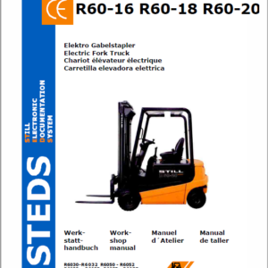 Still Electric Fork Truck R60-16 R60-18 R60-20