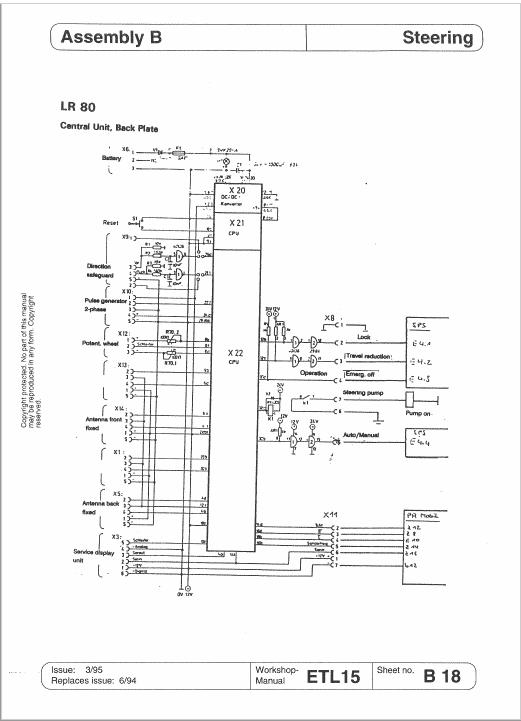 OM Pimespo ETL15 Forklift Workshop Manual
